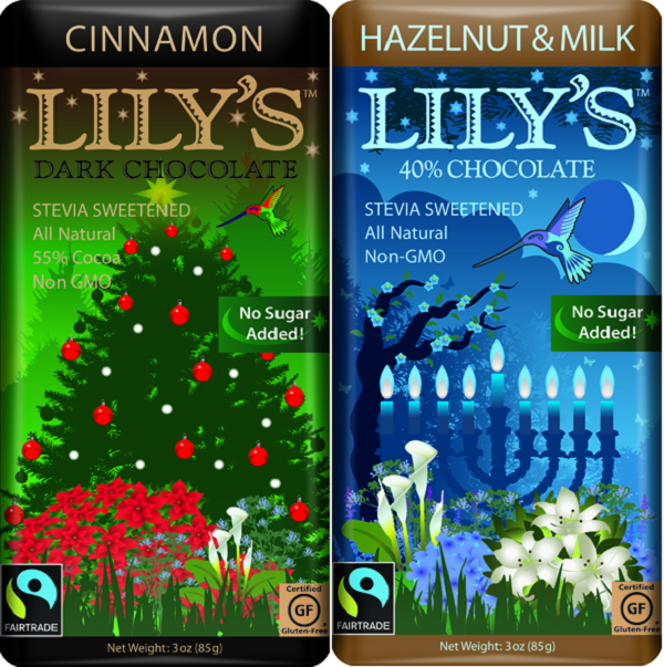 Lily's Sweets Holiday Bars