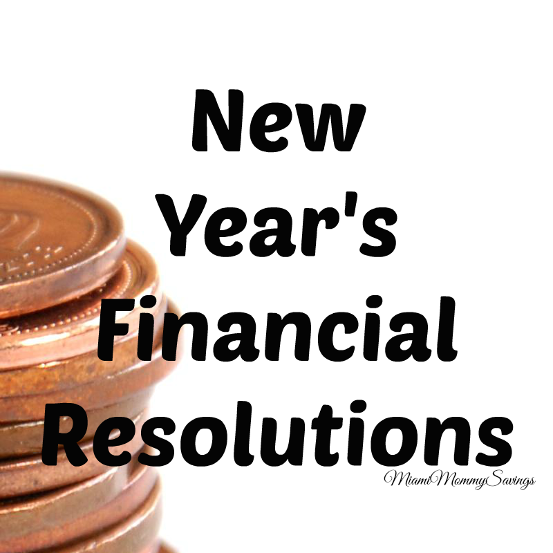 New Year's Financial Resolutions!