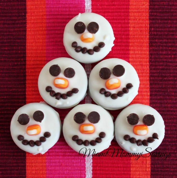 Snowman Oreos Cookies Recipe