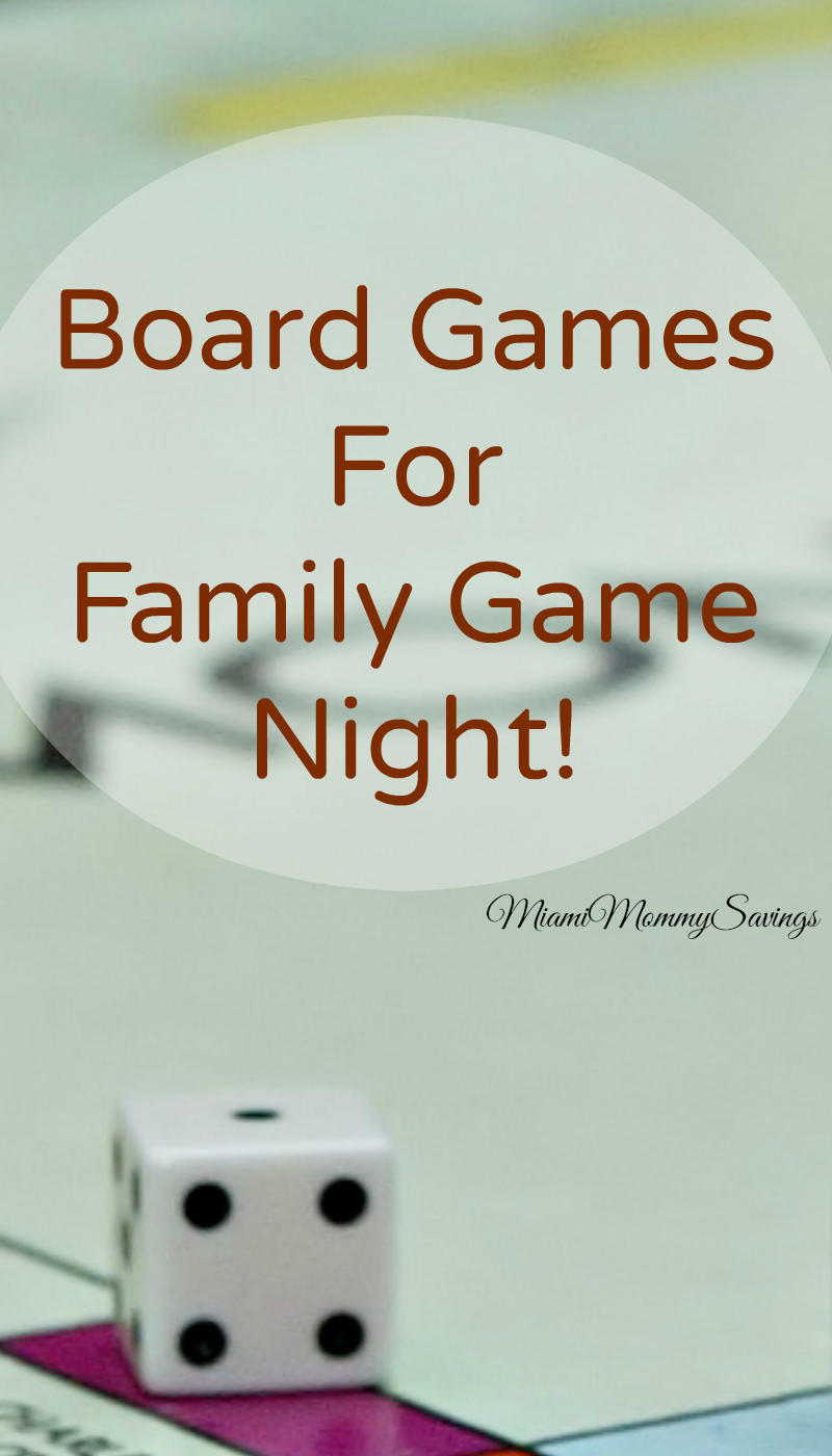 My Best Board Games for Family Game Night!