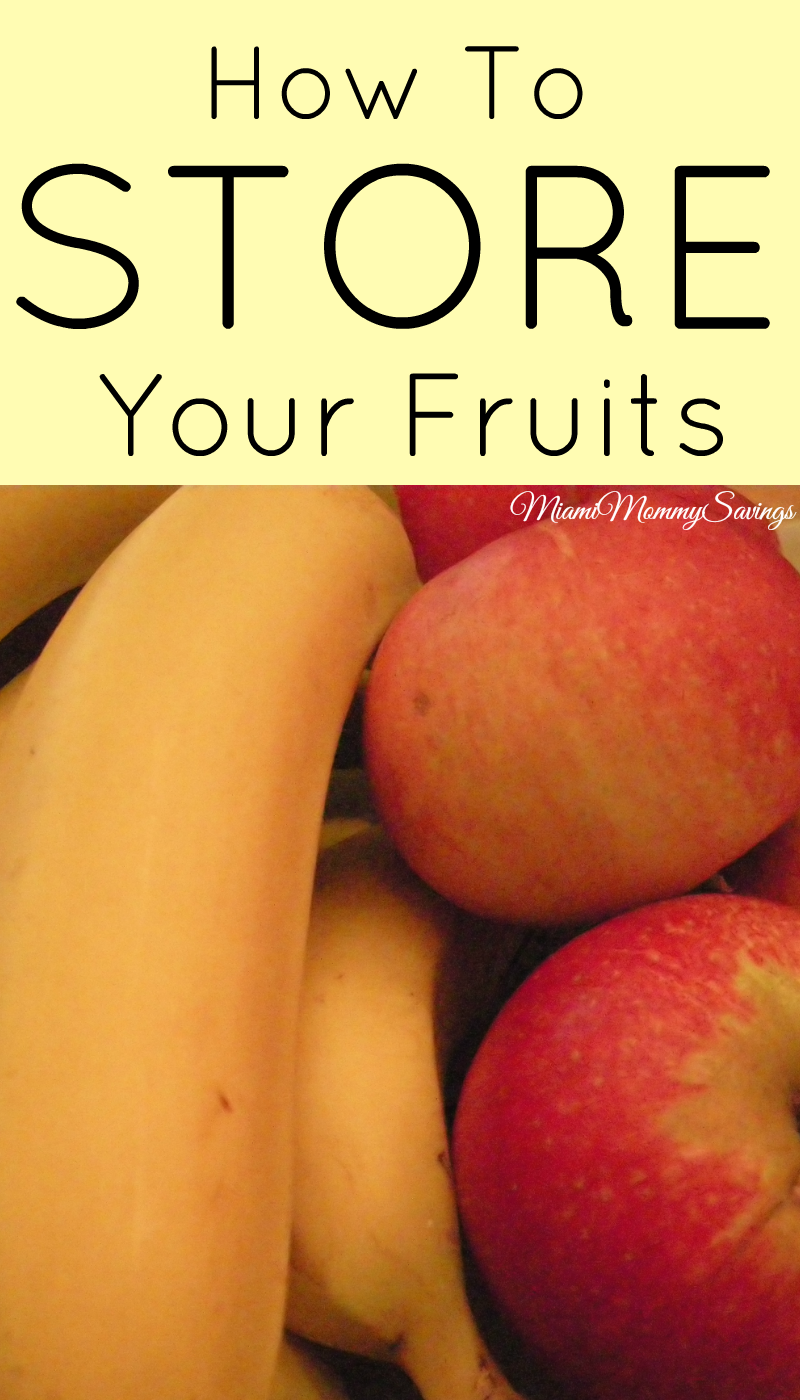 How to STORE your Fruits and Get Your Money's Worth!