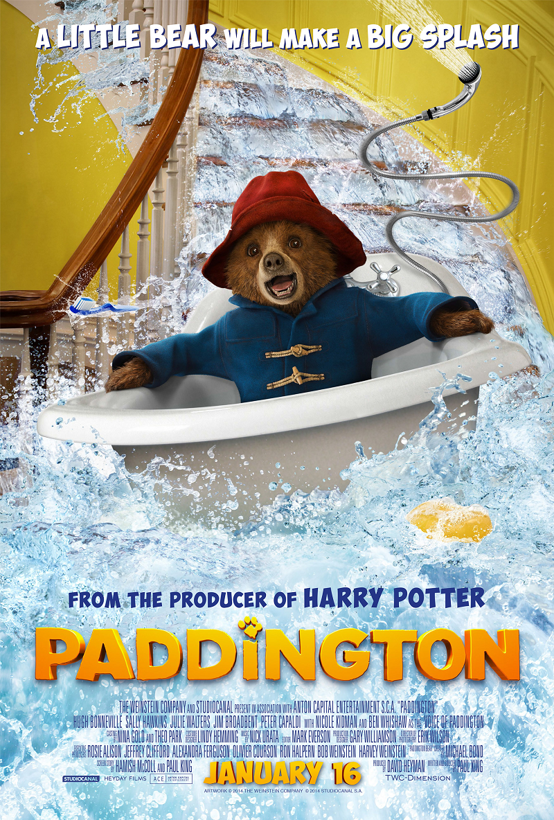 Paddington Movie Official Poster