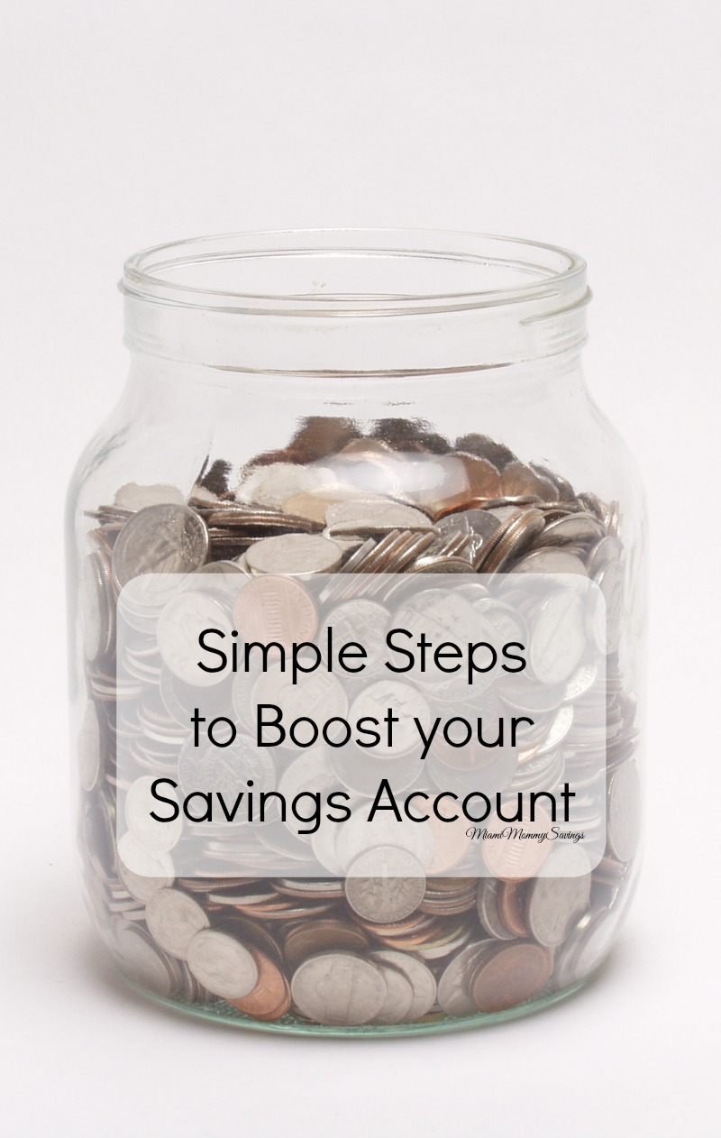 Simple Steps to Boost your Savings Account