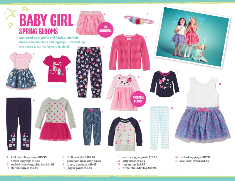 bc7f1e65bf19 The Children s Place Fashion Trends for January 2015!