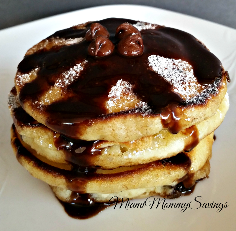 Easy-Chocolate-Chip-Pancakes-Miami-Mommy-Savings
