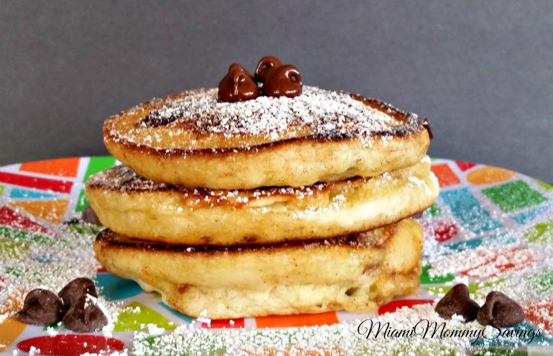 Easy Chocolate Chip Pancakes Recipe