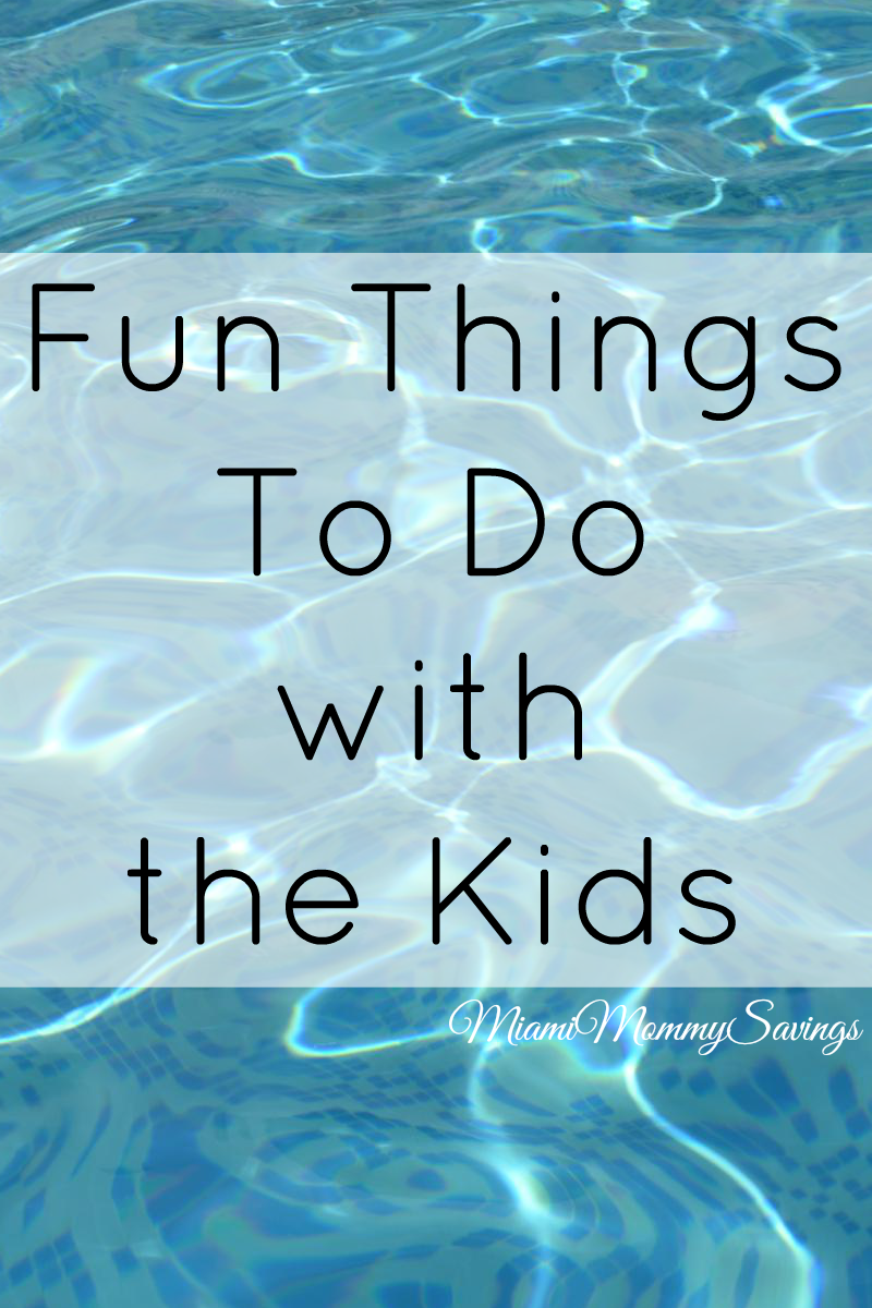 Fun things to do with the Kids in Miami!