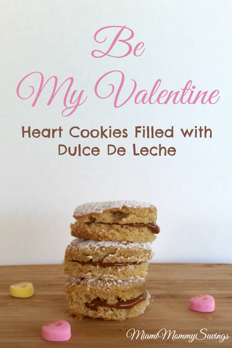 Enjoy these delicious, easy-to-follow and easy to prepare Heart Cookies Filled with Dulce de Leche recipe, more at CleverlyMe.com
