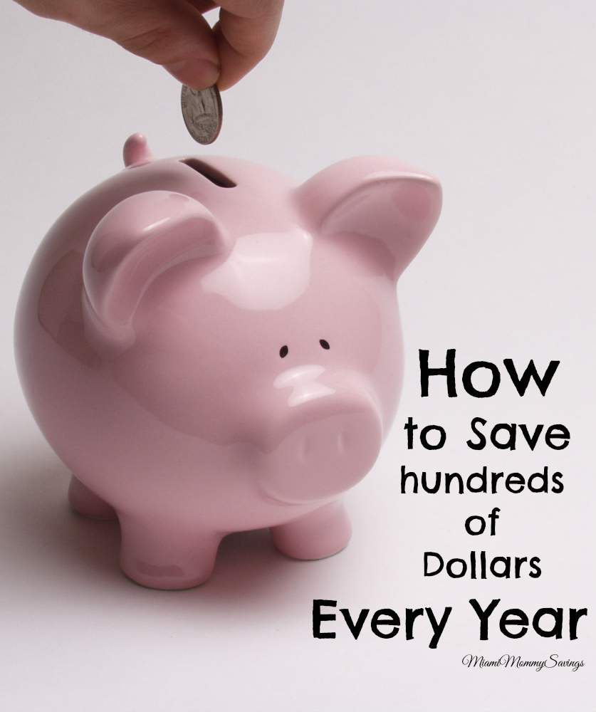 How to Save Hundreds of Dollars Every Year