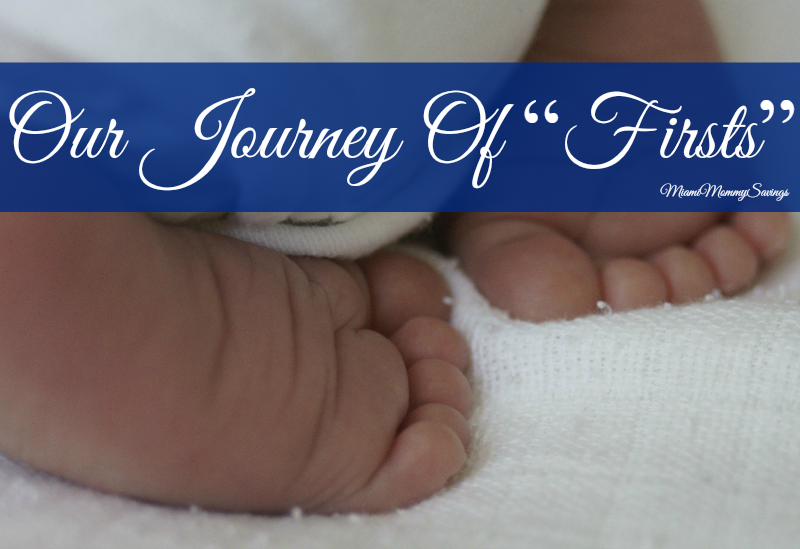 "Our Journey of ""Firsts"" & ""Firsts"" Mommy Celebration with Pampers!"