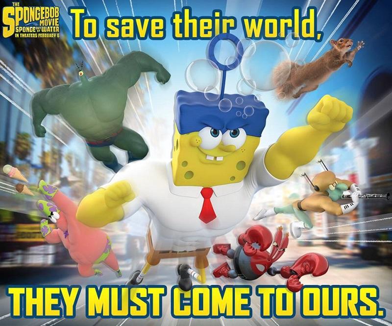 SpongeBob: Sponge Out of Water Movie Review