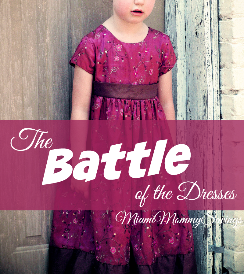 The Battle of the Dresses…