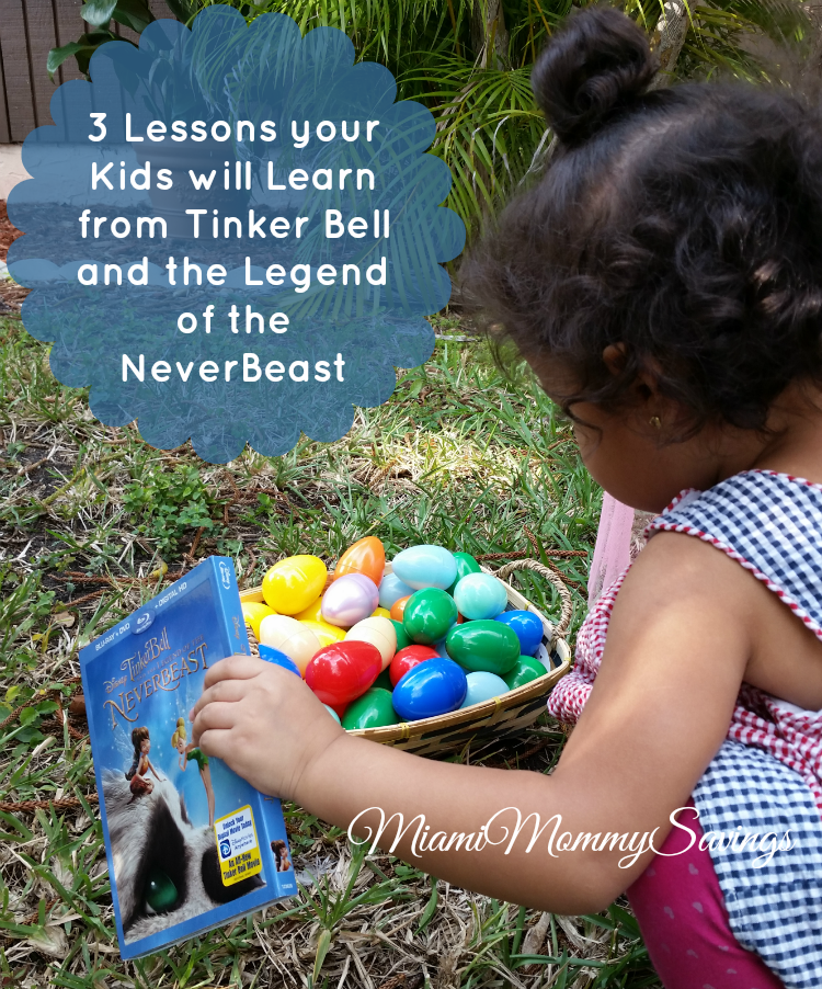 Lessons Learned from Tinker Bell and the Legend of the NeverBeast + Giveaway