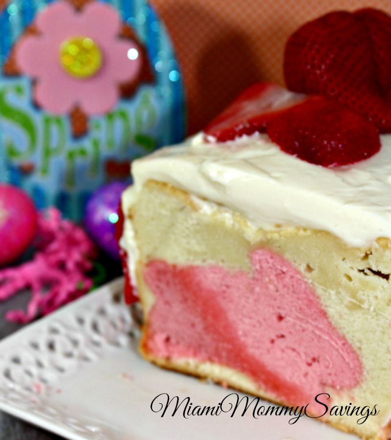 Easter Bunny Surprise Pound Cake Recipe