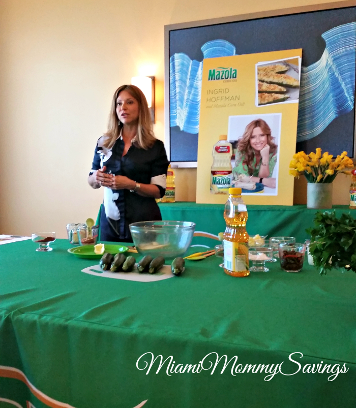 Latino-Cooking-Traditions-with-Chef-Ingrid-Hoffmann-&-Mazola-Miami-Mommy-Savings