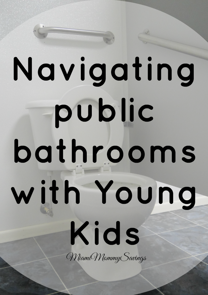 Navigating Public Bathrooms with Young Kids