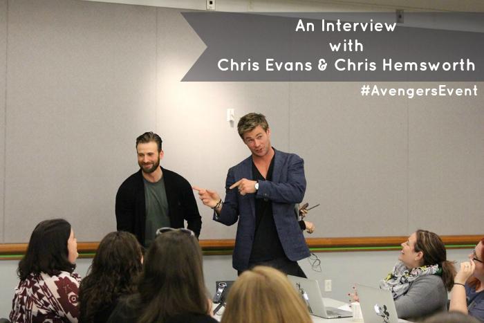 An-Interview-with-Chris-Evans-&-Chris-Hemsworth-2-#AvengersEvents