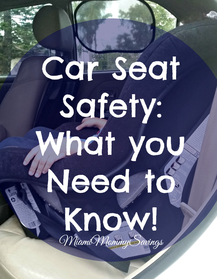 Car Seat Safety: What you Need to Know