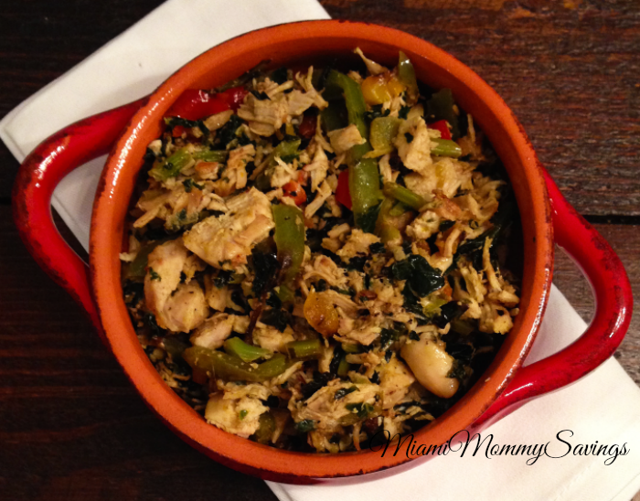 Easy Organic Chicken, Kale & 3-Pepper Recipe
