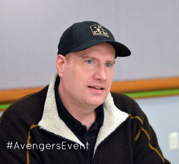 Exclusive Interview with Kevin Feige, more at MiamiMommySavings.com