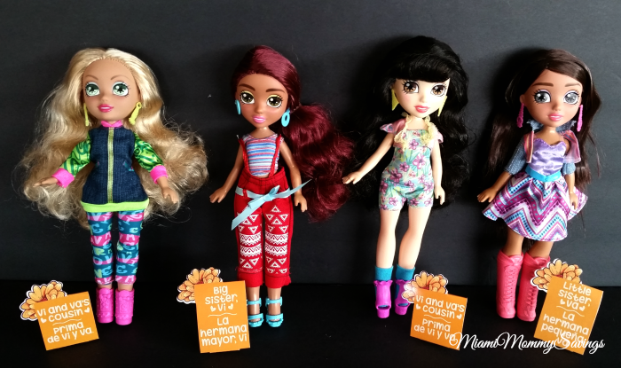 Embrace your Heritage with Vi and Va Dolls + Giveaway
