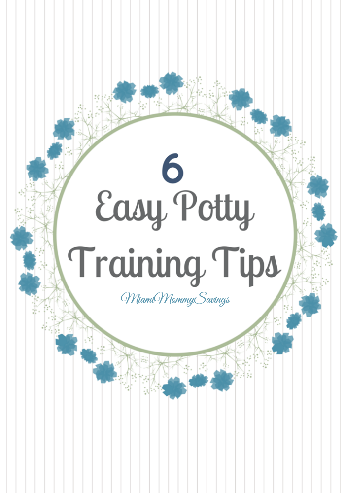 Make potty trainin easy with these 6 Potty Training Tips, morea t MiamiMommySavings.com