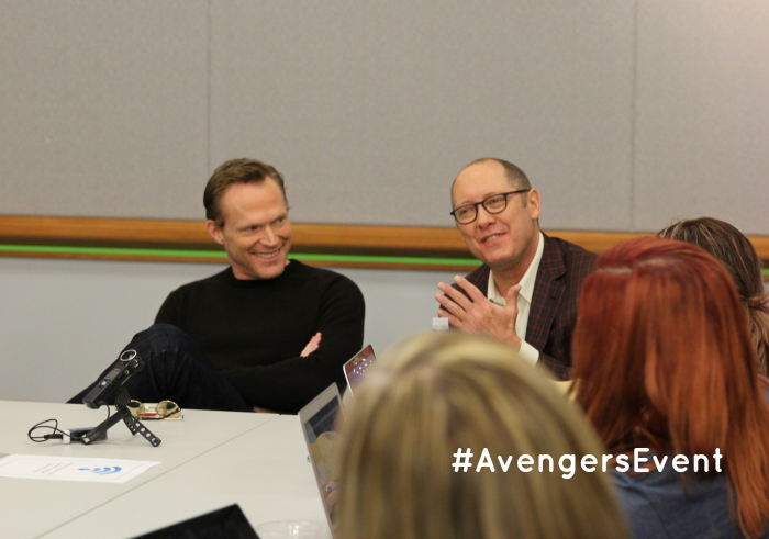 Exclusive Interview with James Spader & Paul Bettany, More at MiamiMommySavings.com #AvengersEvent