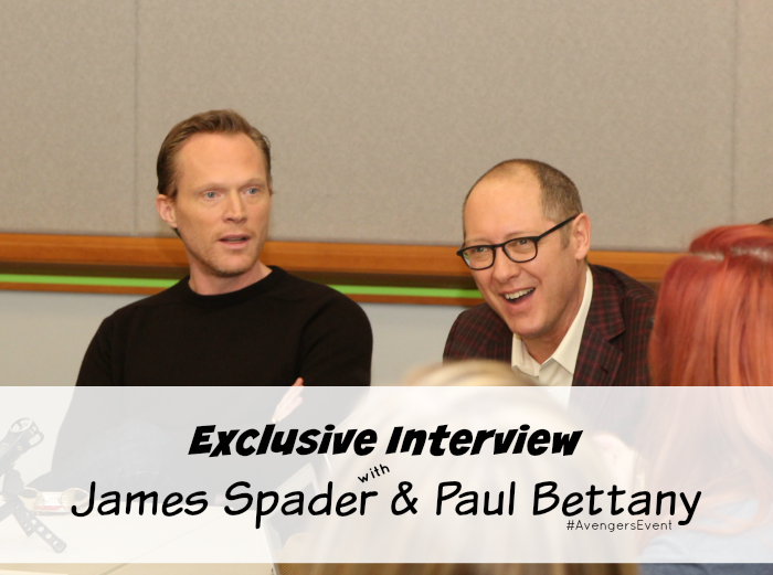 Exclusive Interview with James Spader & Paul Bettany About Avengers: Age of Ultron, More at MiamiMommySavings.com #AvengersEvent