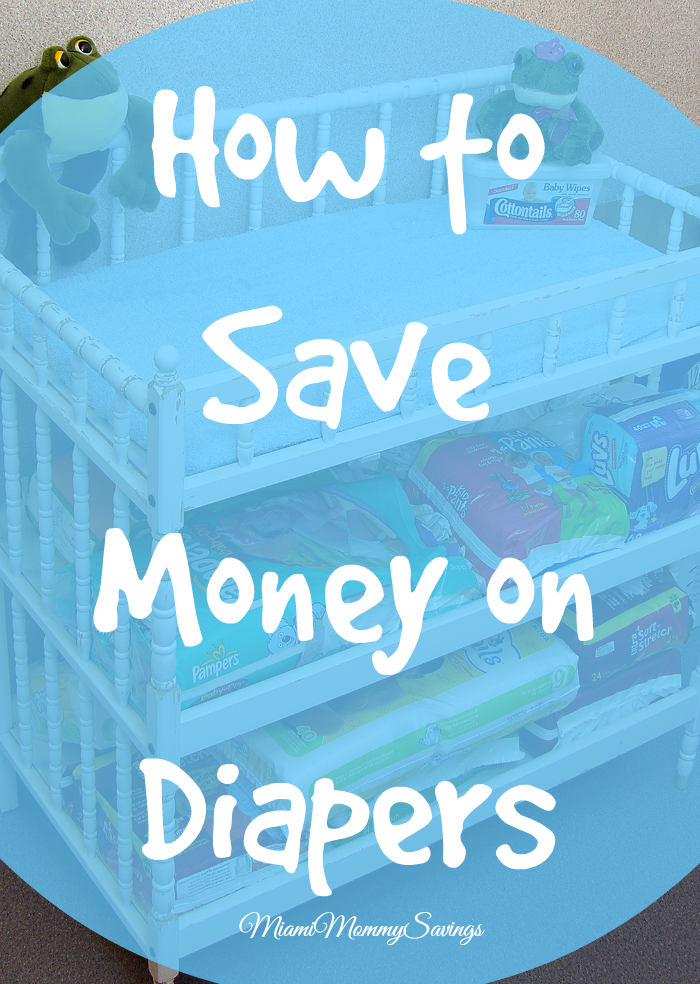 How To Save Money On Diapers, more at MiamiMommySavings.com