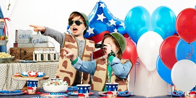How to Throw an Army-Themed Birthday Party, more at MiamiMommySavings.com