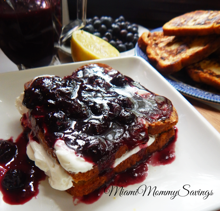 Lemon Blueberry Stuffed French Toast Recipe