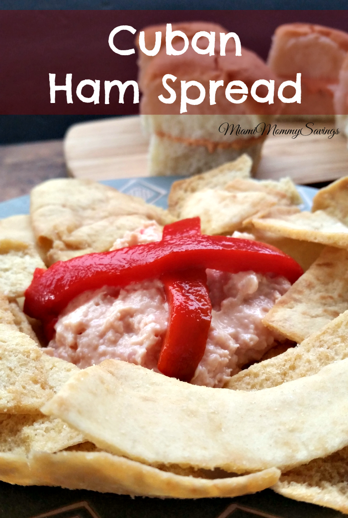 Cuban Ham Spread Recipe, more at MiamiMommySavings.com