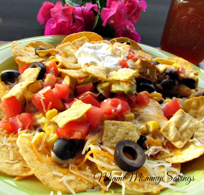 Easy Crunchy Taco Nacho Dinner, more at MiamiMommySavings.com