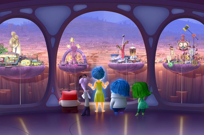 Inside Out - Riley's Life Islands