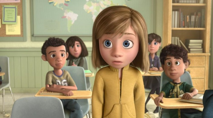 Inside Out - Riley's New School