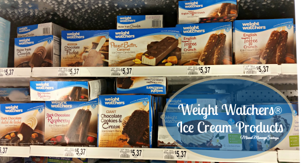 Weight Watchers Ice Cream Products, more at MiamiMommySavings.com