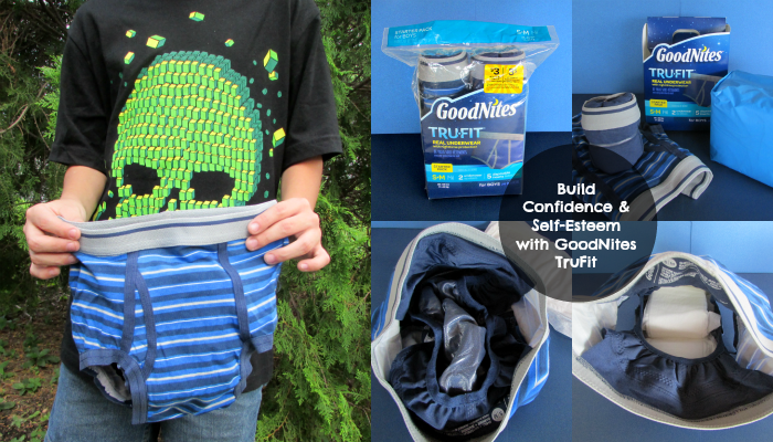 Raising Confident Kids with GoodNites TruFit, more at MiamiMommySavings.com