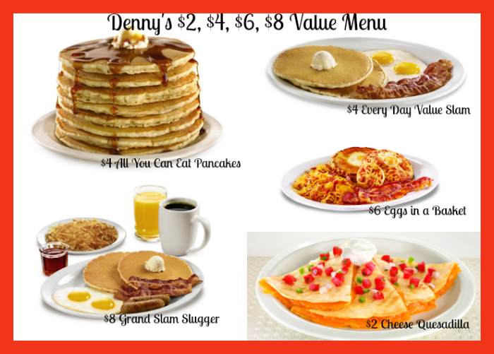 Denny's-$2-$4-$6-$8-menu-Other-Offerings