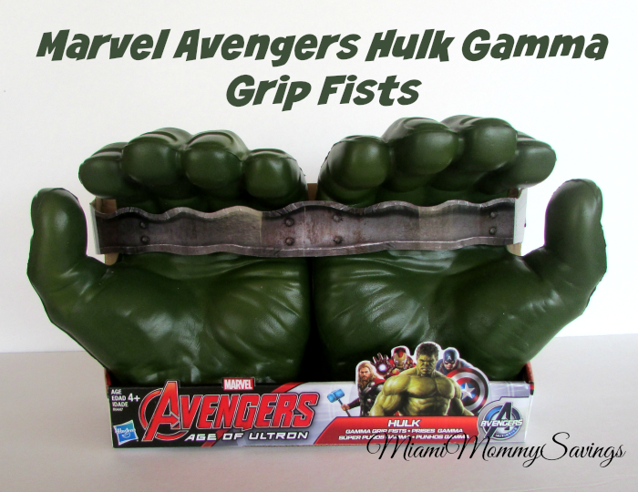 Marvel Avengers Hulk Gamma Grip Fists, more at MiamiMommySavings.com