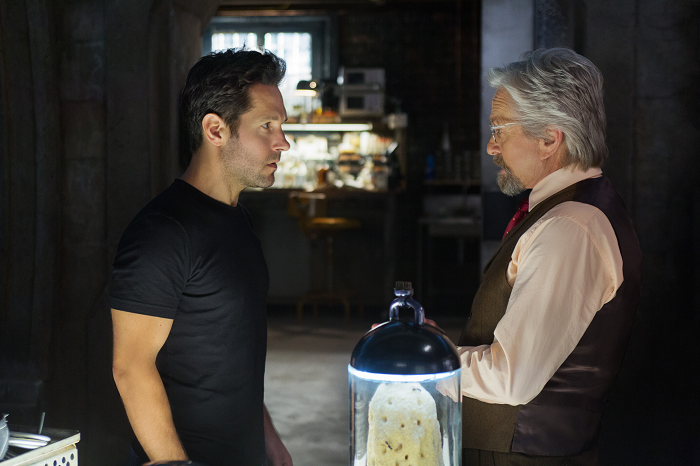 Michael Douglas & Paul Rudd in Ant-Man