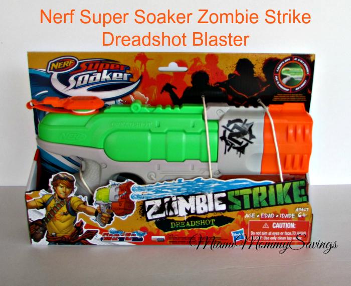 Nerf Super Soaker Zombie Strike Dreadshot Blaster, more at MiamiMommySavings.com
