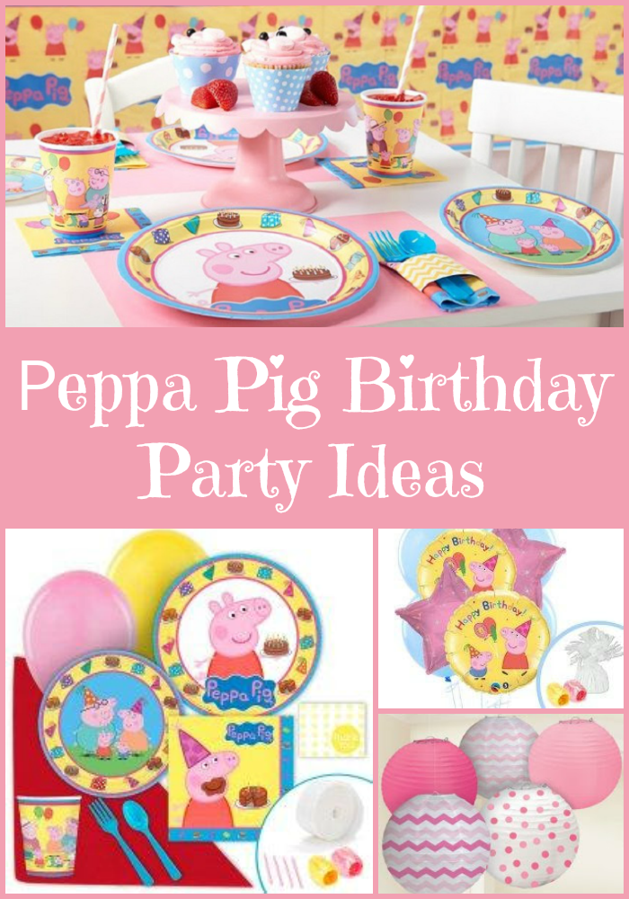 Peppa Pig Birthday Party Ideas, more at MiamiMommySavings.com