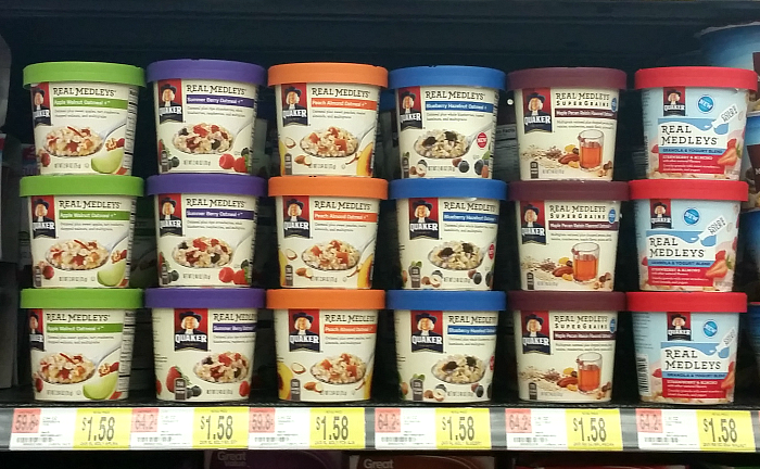 Quaker Real Medley Yogurt Cups Available at Walmart, more at MiamiMommySavings.com