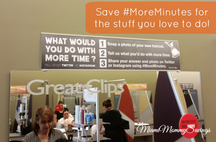 Save #MoreMinutes for the stuff you love to do, more at MiamiMommySavings.com