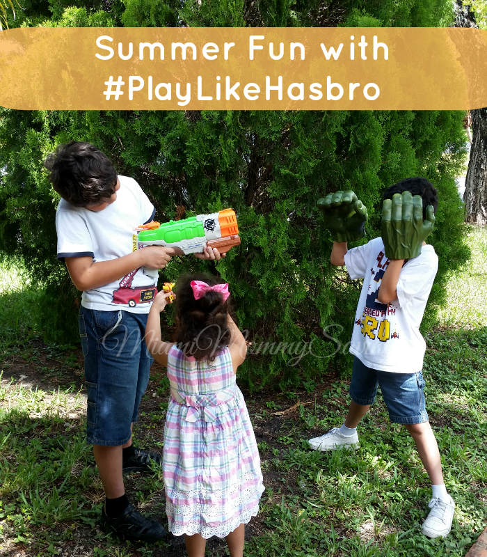 Summer Fun with #PlayLikeHasbro, more at MiamiMommySavings.com