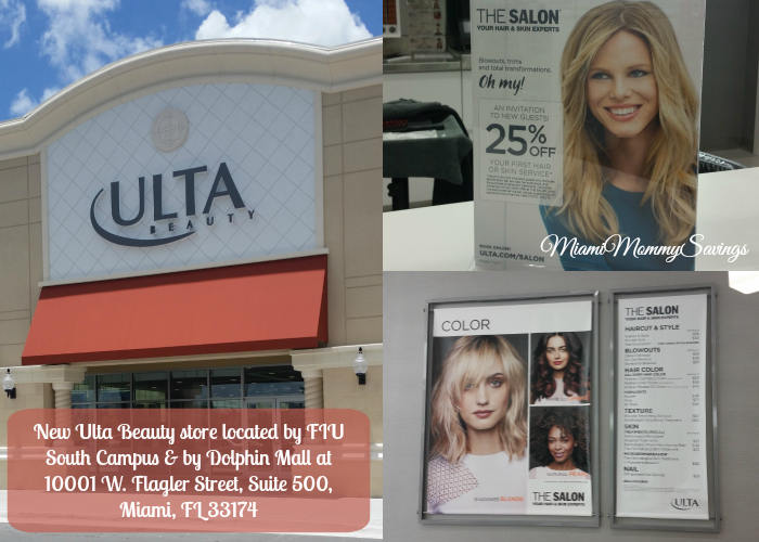 New Ultra Beauty Miami Store, more at MiamiMommySavings.com