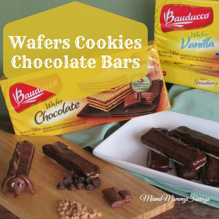 Wafers Cookies Chocolate Bars