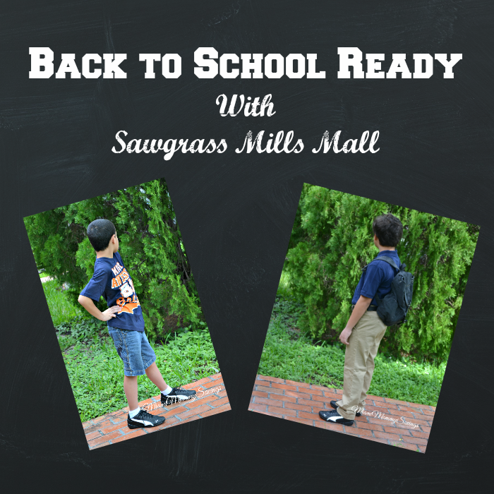 Back-To-School Ready with Sawgrass Mills Mall, more at MallMiamiMommy-Savings.com