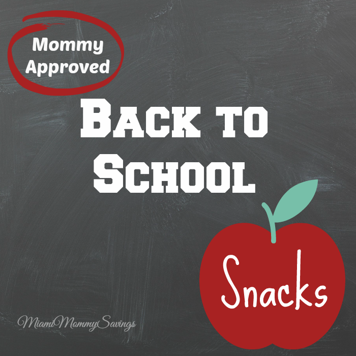 Mommy Approved Back to School Snacks