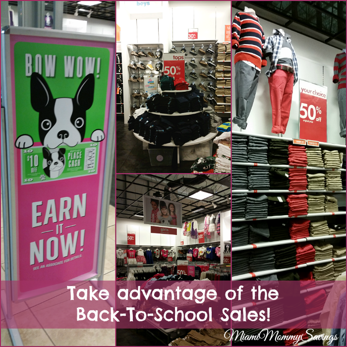 Maximizing your Back-To-School Savings at Sawgrass Mills Mall, more at MiamiMommySavings.com